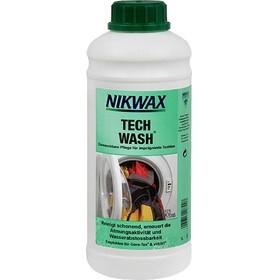 Nikwax Tech Wash 1 l groen/wit
